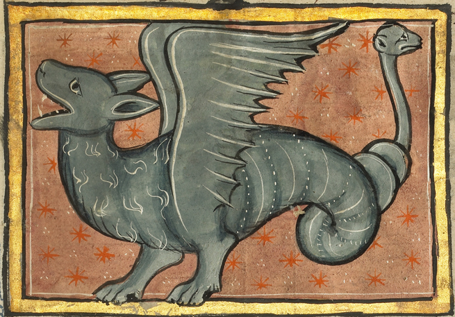 A Winged Dragon